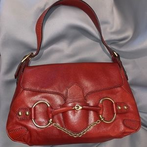 Horsebit 4123 & Chain Tom Ford Era Red Leather
